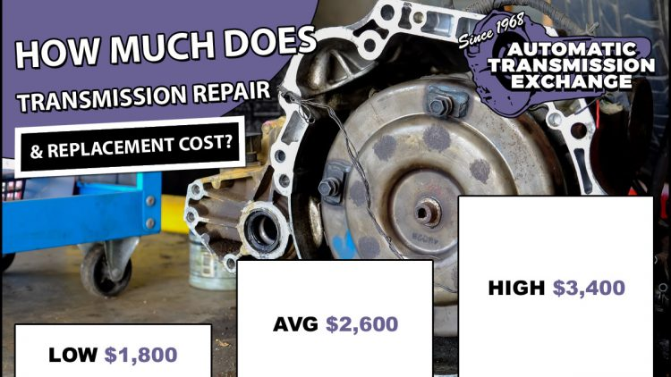 How Much Does It Cost To Rebuild A Transmission >> Transmission Cost 2020 Repair Replacement Rebuild